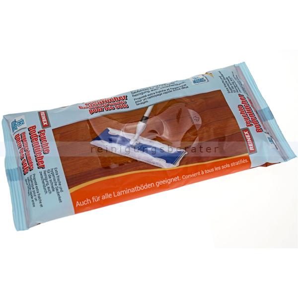 Bodentuch Reinex Feuchte Bodentücher 15 Stück auch für alle Laminatböden geeignet 7824