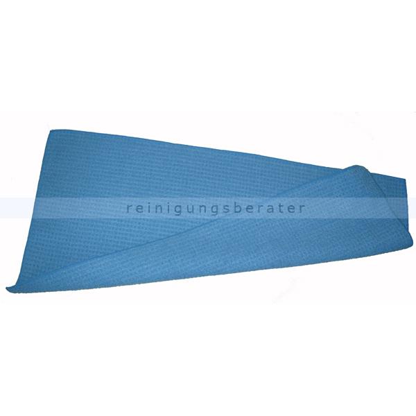 Reinigungsberater Bodentuch Waffeltuch 55x27 cm blau Waffelstruktur bestens gegen verkrusteten Schmutz 615.400.004