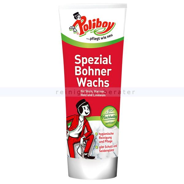 Poliboy Bohnerwachs Spezialwachs neutral Bringt dauerhaften Schutz und Seidenglanz 6325001