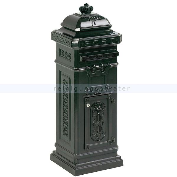 ReinigungsBerater Briefkasten Säulen-Briefkasten Grün nostalgischer Säulen-Briefkasten 31035243