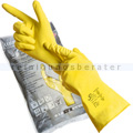 Chemikalien Schutzhandschuhe Ampri Solid Safety gelb L