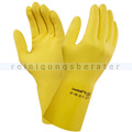 Chemikalien Schutzhandschuhe Ansell Ecohands® Plus gelb in M