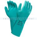 Chemikalien Schutzhandschuhe Ansell Solvex® grün in M