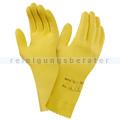 Chemikalien Schutzhandschuhe Ansell Universal Plus gelb S