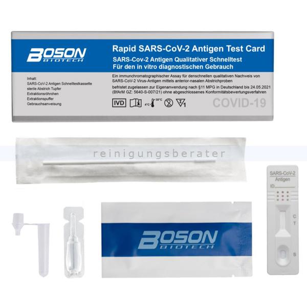Corona Test Boson COVID-19 Antigen Schnelltest Einzelpack