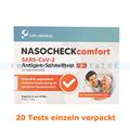 Corona Test NASOCHECK SARS-CoV-2 Antigen-Selbsttest 20 Tests