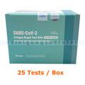 Corona Test NASOCHECK SARS-CoV-2 Antigen-Selbsttest 25 Tests