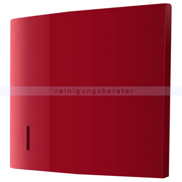CWS Panel für Faltpapierspender Paradise Paper Slim rot