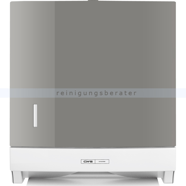 CWS Panel für Faltpapierspender Paradise Paper Slim silber