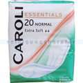Damenbinden Caroli Essentials Extra Soft normal 20er Pack
