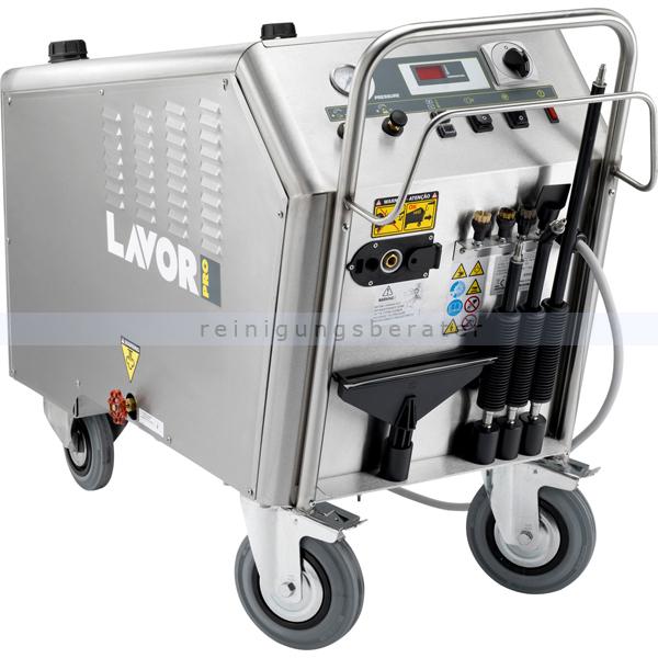 Dampfreiniger Lavor GV VESUVIO 10 professioneller Dampfreiniger aus Edelstahl AISI 304 8.452.0010