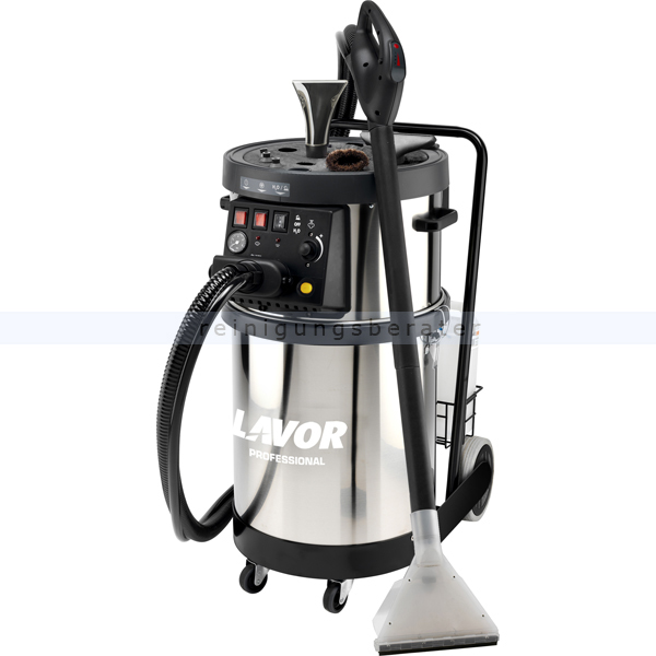 Lavor Industriedampfreiniger GV Etna 4000 Foam Profi Dampfreiniger- und Dampfsauger mit Schaumfunktion 8.451.0108