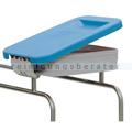 Deckel Novocal KDS für Wäschesammler Kunststoff blau