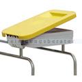 Deckel Novocal KDS für Wäschesammler Kunststoff gelb