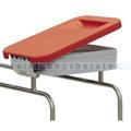 Deckel Novocal KDS für Wäschesammler Kunststoff rot