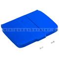 Deckel TTS blau für Sackhalterahmen 120 L