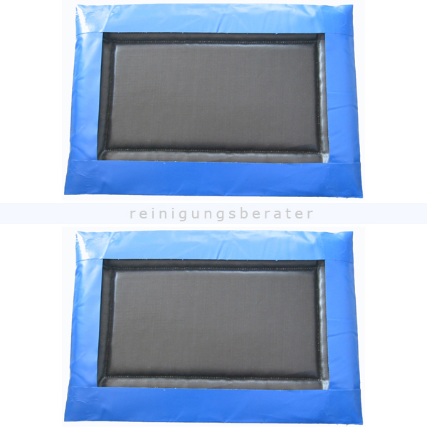 ReinigungsBerater Desinfektionsmatte 110x380 cm für 40 L Desinfektionslösung 2 Stück, für KFZ und LKW Desinfektionsschleusen 115.400.350