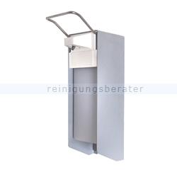 Desinfektionsmittelspender Aluminium mit Armhebel 1 L