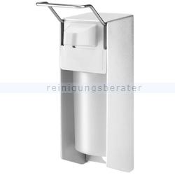 Desinfektionsmittelspender Aluminiumspender 1 L silber
