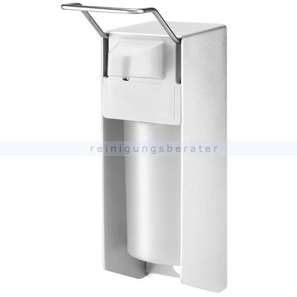 Desinfektionsmittelspender Aluminiumspender 500 ml silber