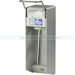 Desinfektionsmittelspender Dr. Becher Wandspender Alu 1 L