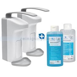 Desinfektionsmittelspender Dr. Schumacher SPE 500 ml Set