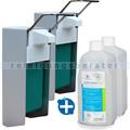 Desinfektionsmittelspender SET Aseptoman Gel 2x 1 L