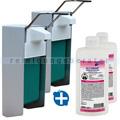 Desinfektionsmittelspender SET Meditrade Alcoman 2x 0,5 L
