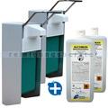 Desinfektionsmittelspender SET Meditrade Alcoman 2x 1 L