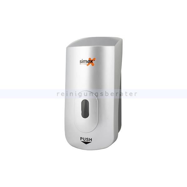 Desinfektionsmittelspender Simex Sprühspender metallic 1 L