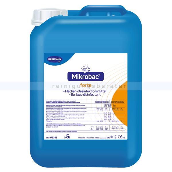 Desinfektionsreiniger Bode Mikrobac Forte 5 L