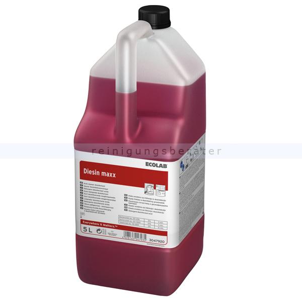 Ecolab Diesin Maxx 5 L Desinfektionsreiniger saurer Desinfektionsreiniger, VAH gelistet 3047920