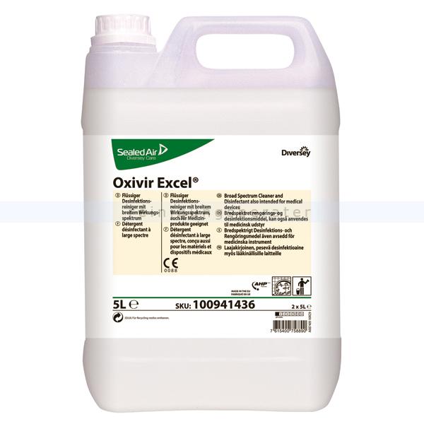 Desinfektionsreiniger Diversey Oxivir Excel 5 L