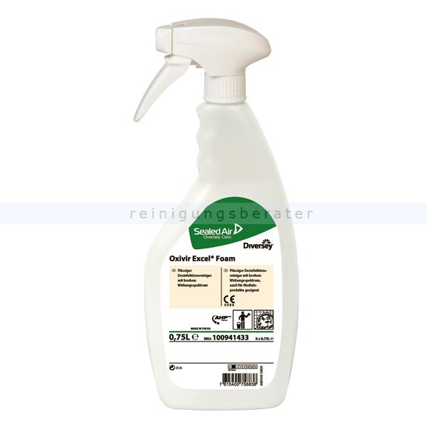 Desinfektionsreiniger Diversey Oxivir Excel Foam 0,75 L
