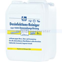 Desinfektionsreiniger Dr. Becher super F6000 5 L