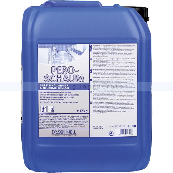 Dr. Schnell Pero-Schaum 12 kg Desinfektionsreiniger selbstschäumender Desinfektionsreiniger 36137