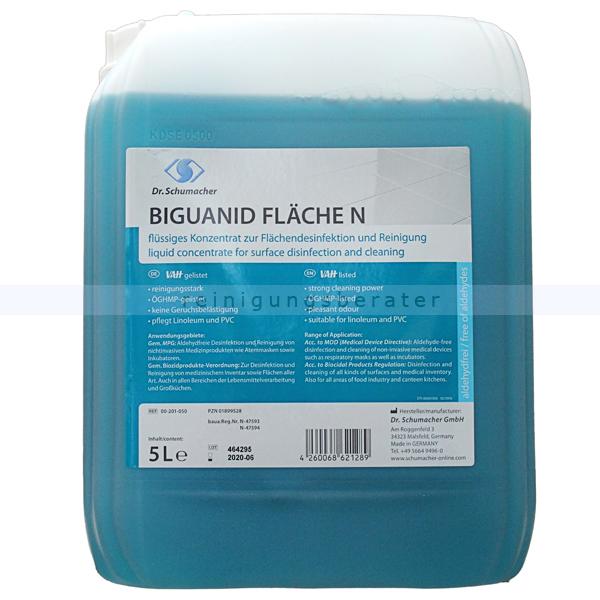 Desinfektionsreiniger Dr. Schumacher Biguanid Fläche N 10 L