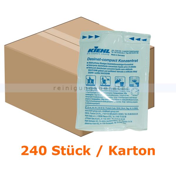 Desinfektionsreiniger Kiehl Desinet compact Konzentrat 25 ml
