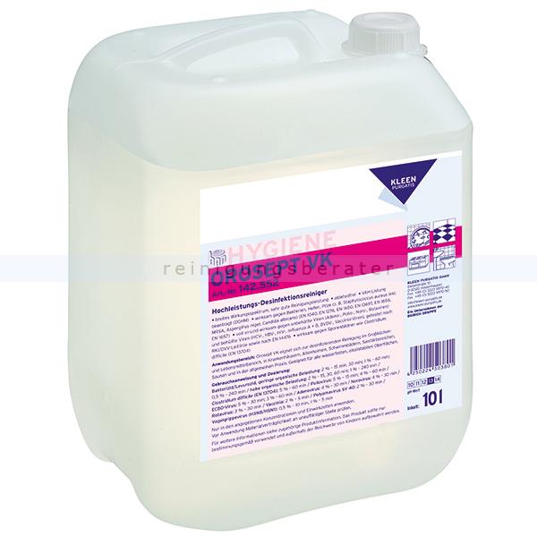 Desinfektionsreiniger Kleen Purgatis Orosept VK 10 L