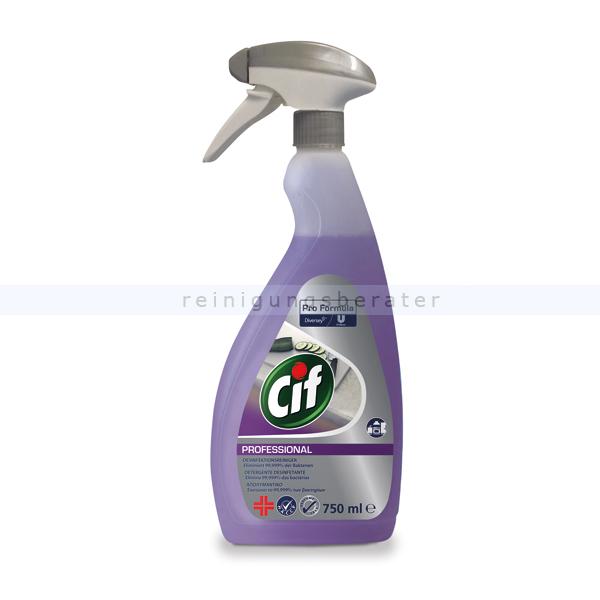 Desinfektionsspray Diversey Cif Professional 2in1 750 ml