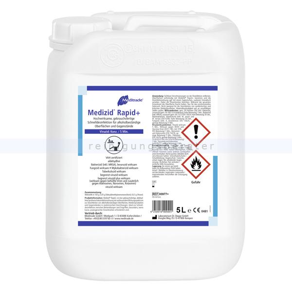 Desinfektionsspray Meditrade Medizid Rapid 5 L