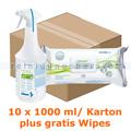 Desinfektionsspray Schülke Mikrozid universal liquid 10x 1 L