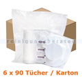 Desinfektionstücher Bode X-Wipes 6 x 90 Tücher und Deckel
