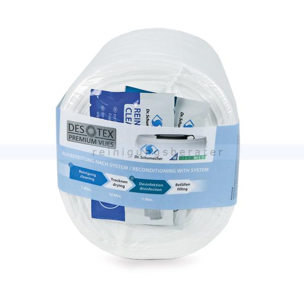Desinfektionstücher Dr. Schumacher ECO Wipes kompakt