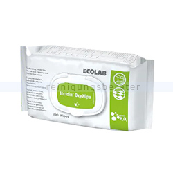 Desinfektionstücher Ecolab Incidin Oxy Wipes Flowpack
