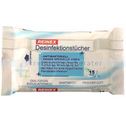 Desinfektionstücher Reinex Händedesinfektion 15 Stück