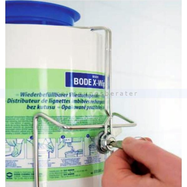 Desinfektionstücher Sicherungsbügel Bode