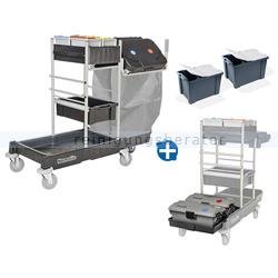 Desinfektionswagen Numatic SM 1705-240 mit Moppbox-Set MK2
