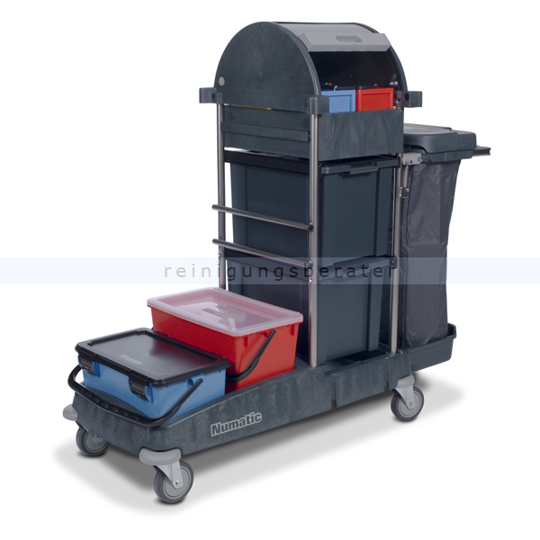 numatic topcar 1 a desinfektionswagen mit einer moppbox. Black Bedroom Furniture Sets. Home Design Ideas