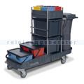 Desinfektionswagen Numatic TopCar 2 mit zwei Moppboxen